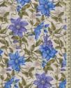 V1456 - Květy modré a fialové