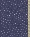 V1644 - Stříbrné hvězdičky na modré
