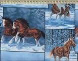 1220 - Koně na sněhu I.
